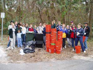 2004 Volunteers (Bartram – Carr Woods)