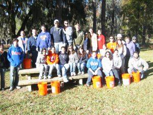 2009 Volunteers (Bartram – Carr Woods)